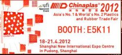 We Will Attend CHINAPLAS (Our booth is E5K11)