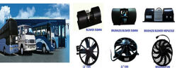 bus ac blower and fan