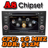 WITSON A8 Chipset Dual Chipset gps navigation system for AUDI A4 / S4/ RS4 2002-2008
