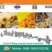 Industrial corn snacks food extruder machine