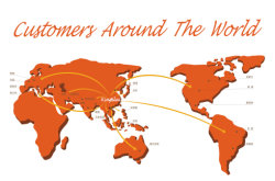Clients all over the world