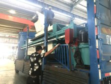 Delivery of filter press to Russia