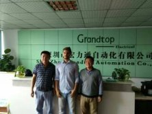 2017.11.15 Welcome UK Customer Felipe Lglesias Visit Grandtop