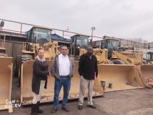 Wheel loaders to Africa