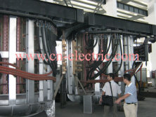 50ton induction melting furnace