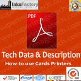 How to use cards printers