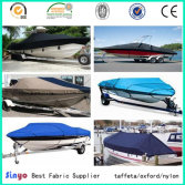 Professional Pu&Pvc coated Oxford fabric for Boat covers/canopy
