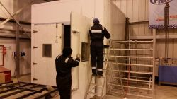LIB win 60 cubic meter walk-in chamber project