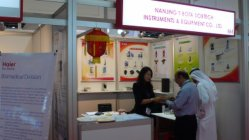 Customers From MID-East Come to Visit Our Booth