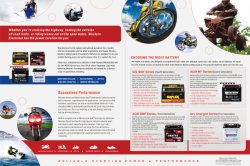 Motorcycle Battery Types brief introduction in one page, now you could know the differenence in one page.