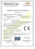 DAWIN Machinery CE certificates for concrete mixers