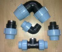 Special Offer of PP Compression Fittings
