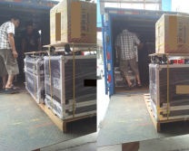 Flight case package of sharpy and led moving head by air