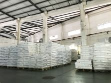 Raw material in warehouse