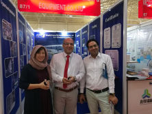 Our customer in Iran Confair 2017