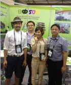 Babson toner on RechargeExpo Thailand Exhibition held at Bangkok from Aug 28th-30th,2014