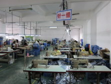 Stitching Department of Inline Skate