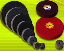 non woven polishing wheel, unitized wheel, buffing wheel, unitized disc, deburring wheel, convoiute