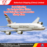 Reliable Air Freight agent from China to Southwest Asia Logistics services