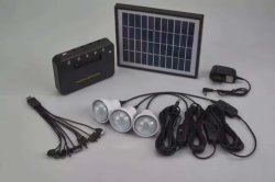 home solar power system with FM radio