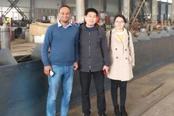 Bangladesh friend visited our factory