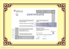 CE certificate of auto filters