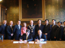 Chairman Cao Kejian visits UK for Cooperation with Holroyd