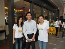 Visiting customers in Bangkok, Thailand