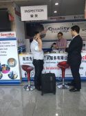 SUNCHINE INSPECTION IN 122nd Canton Fair 24th Oct 2017