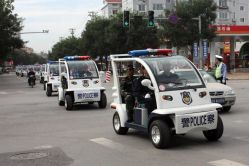 Electric Patrol Car Used by Chinese Police