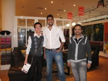 Visiting customers in Dubai, UAE