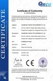 CE Certificate of nitrogen hot oven