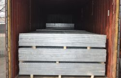 galvanized grating loading container