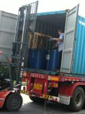 export 120 bucket silicone sealant to Indonesia