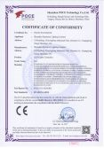 CE Certificate of LED Lights Controller