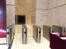 access control system turnstile for building