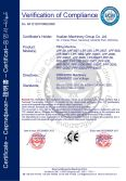 CE Certification for Filling Machine