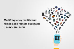 multifrequency rolling code remote