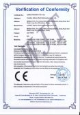 LED TUBE CE-LVD certificates
