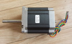 Double shafts 2 phase stepper motor