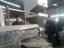 Automatic oil press making expeller machine