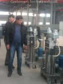 Customers for hydraulic oil press