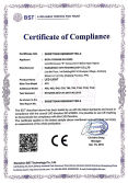 CE LVD certificate of led light