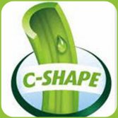 C shape designed grass