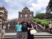 Sales Manager Meets Customer in Macao