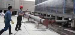 Cooling tower maintenance works