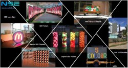 NSE provide full series LED display