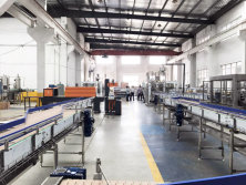 Workshop Of Water Filling Line