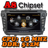 Witson A8 Chipset Car DVD Player With GPS for HYUNDAI VERNA / SOLARIS / ACCENT(2010-2012)