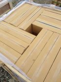 Slate/Ledge Stone/Culture Stone Package -- Carton + Wooden Crate 2